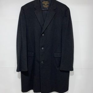100% Pure Cashmere Trench Coat
